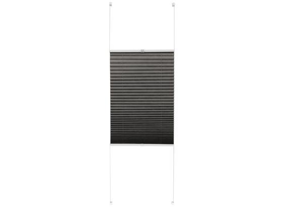 Plisé Free, 50/130cm, Sivá - sivá, textil (50/130cm) - Mömax modern living