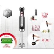 Stabmixer Battery Mix - Schwarz, MODERN, Kunststoff/Metall (6,35/42,2cm)