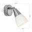 Bodové Svetlo Tadeus, Max. 40 Watt - Konvenčný, kov/sklo (7/13,5cm)