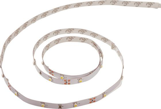 LED-flexband Beatrix, 1 Meter - Weiß, KONVENTIONELL, Kunststoff (100/1/0,3cm) - Luca Bessoni