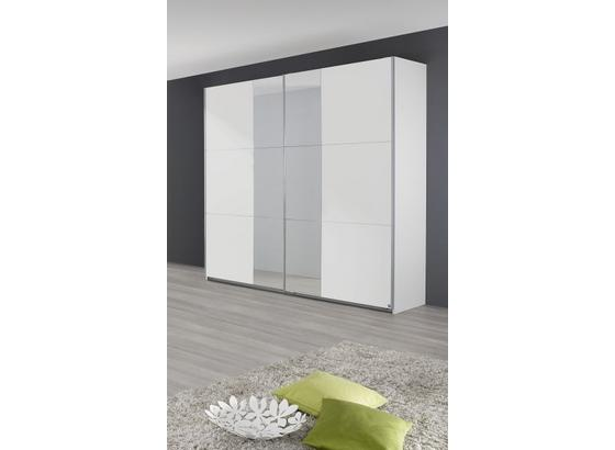 Skriňa Fellbach - Moderný, kompozitné drevo (218/210/59cm)