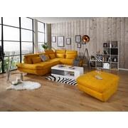 Wohnlandschaft In L-Form Park 311x233 cm - Currygelb/Schwarz, MODERN, Textil (311/233cm) - Luca Bessoni