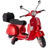 Kindermotorrad Vespa - Rot, Basics, Kunststoff/Metall (107/95/82cm)