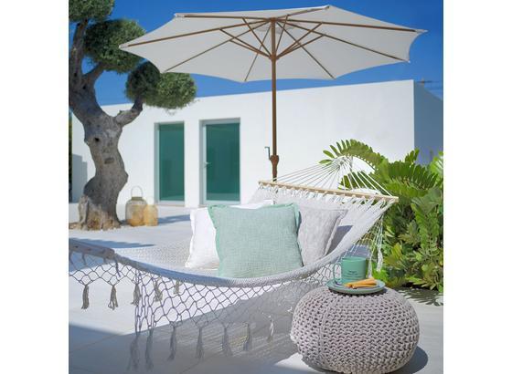 Slunečník Corfu - přírodní barvy/barvy hliníku, kov/textil (265/230/265cm) - Modern Living