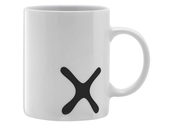 Hrnek Na Kávu Mömax 4 You -ext- - bílá/černá, keramika (8/9,5cm) - Mömax modern living