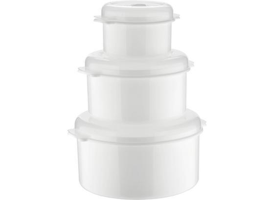 Sada Do Mikrovlnnej Rúry Miko - biela, Konvenčný, plast (0.5+1.65+2l)