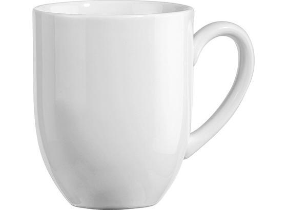 Kaffeebecher Felicia, ca. 300ml - Weiß, KONVENTIONELL, Keramik (0,3l) - Ombra