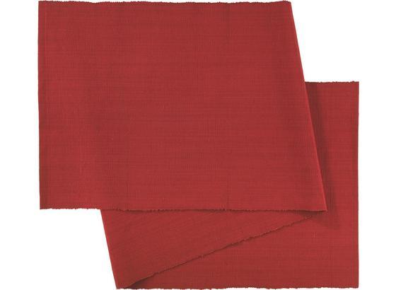 Obrus Behúň Maren - červená, textil (40X/150cm) - Mömax modern living