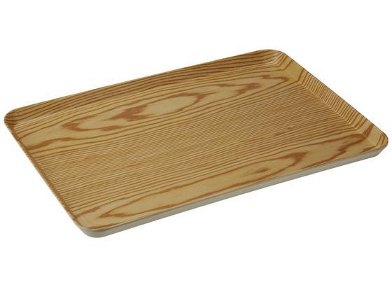 Servírovacia Tácňa Elena - L - prírodné farby, drevo (42/32/2cm) - Mömax modern living