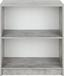 Regal 4-You New YUR01 - Schwarz/Weiß, MODERN, Holzwerkstoff (74/85,5/34,6cm)