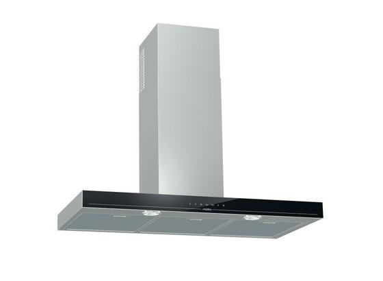 Digestoř Ok 997 Gx  (mora) - černá/barvy nerez oceli, Konvenční, kov/sklo (90cm) - Mora