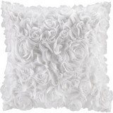 Dekoračný Vankúš Rosalinde - biela, Romantický / Vidiecky, textil (40/40cm) - Mömax modern living