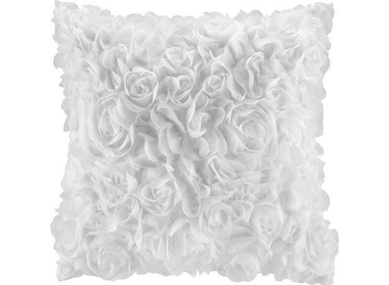 Polštář Ozdobný Rosalinde - bílá, Romantický / Rustikální, textil (40/40cm) - Mömax modern living