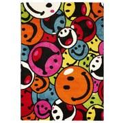 Kinderteppich Design Smily 80/150 - Multicolor, MODERN, Textil (80/150cm)