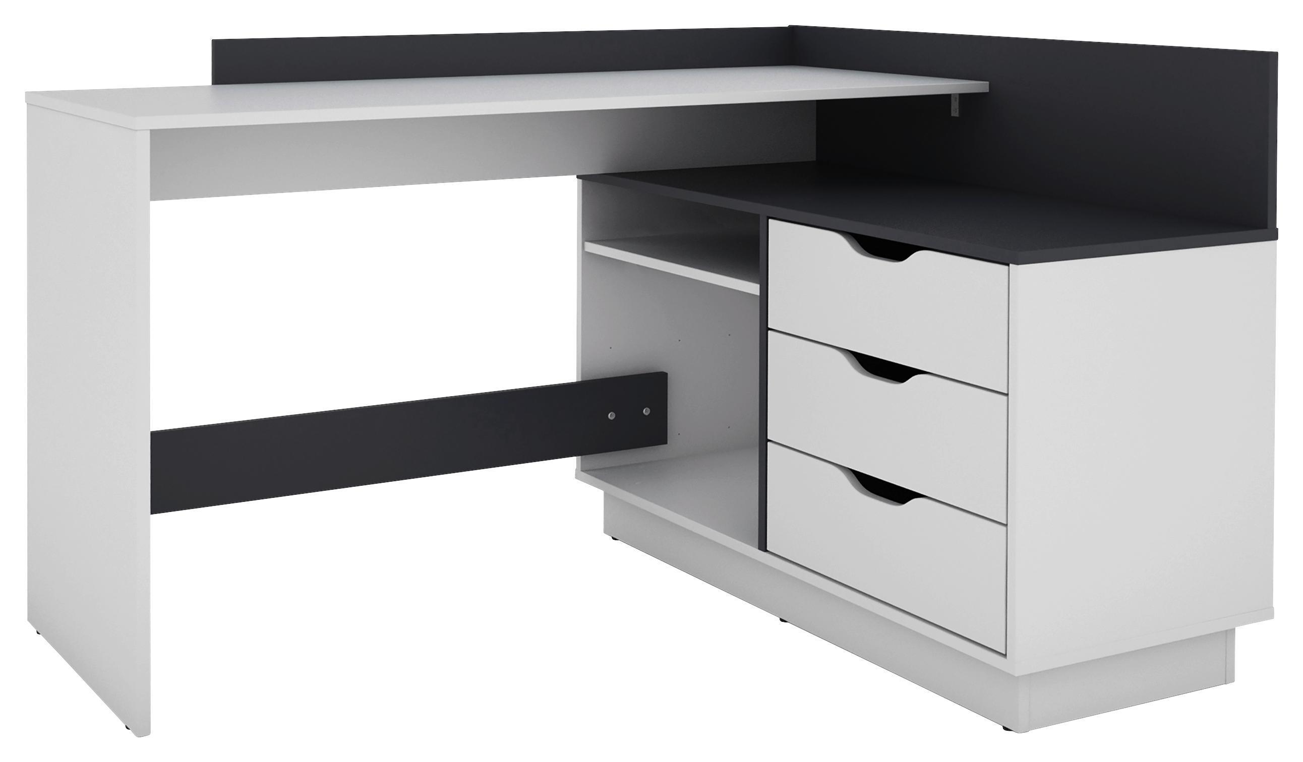 Schreibtisch BALTASAR Weiß