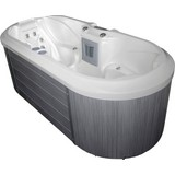 Outdoor Whirlpool Ec 2000 Como - Braun/Weiß, MODERN, Kunststoff (225/78/100cm)