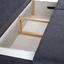Pohovka S Rozkladom Mix It 3 - sivá, Moderný, textil (200/92/96cm) - Luca Bessoni