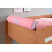 Nackenrolle Rosa/Flieder - Flieder/Rosa, Design, Textil (80/16/16cm) - Livetastic