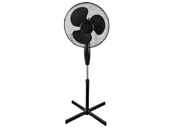 Stojanový Ventilátor Wenti - čierna, kov/plast (60/128cm) - Insido