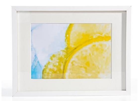 Rám Na Obrazy Gitta - bílá, Moderní, kompozitní dřevo/sklo (30/40/3,6cm) - Mömax modern living
