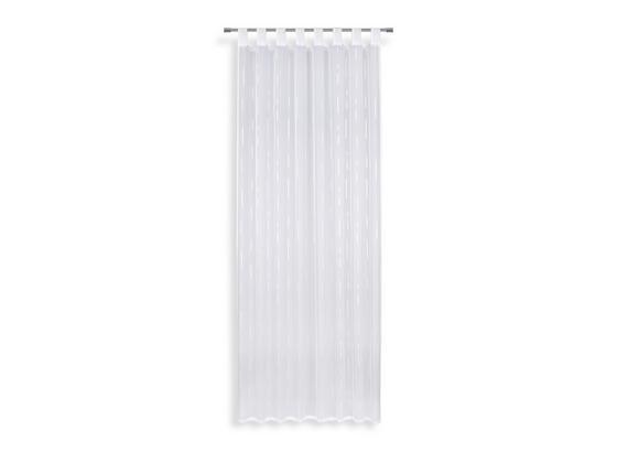 Kombivorhang Arzu - Weiß, MODERN, Textil (140/255cm) - Luca Bessoni
