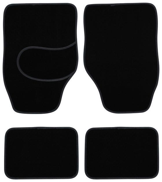 Automattenset Finnik 4er Set - Schwarz, KONVENTIONELL, Textil