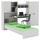 Jugendzimmer Start-up - Weiß, KONVENTIONELL, Holzwerkstoff (278,2/187,3/232,2cm)