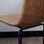 Barhocker-Set Byron 2-Er Set Braun - Schwarz/Braun, LIFESTYLE, Kunststoff/Metall (48/102/54cm) - Livetastic