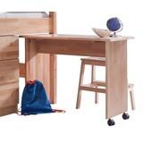 Jugendschreibtisch Kim - Naturfarben, Design, Holz/Kunststoff (94/70/50cm) - Bessagi Kids