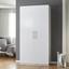 Skriňa Basic - biela, Moderný, kov/drevo (110/220/56cm) - Modern Living