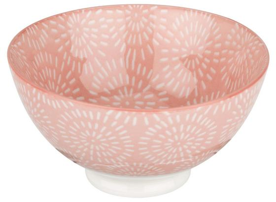 Miska Na Müsli Nina - ružová, keramika (11cm) - Mömax modern living