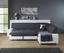 Sedacia Súprava Miami - sivá/biela, Moderný, umelá hmota/drevo (260/210cm)