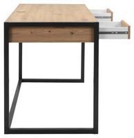 Schreibtisch in Artisan Eiche Dekor & Anthrazit