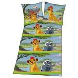Lizenzbettwäsche König der Löwen - Multicolor, Textil (37/26/2,5cm)