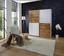 Skříň S Posuvnými Dveřmi Victor 2 - bílá/barvy dubu, Moderní, dřevěný materiál (170/195/63cm)