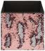 Regalkorb Fabrizia - Pink/Silberfarben, LIFESTYLE, Kunststoff/Textil (32/32/32cm)