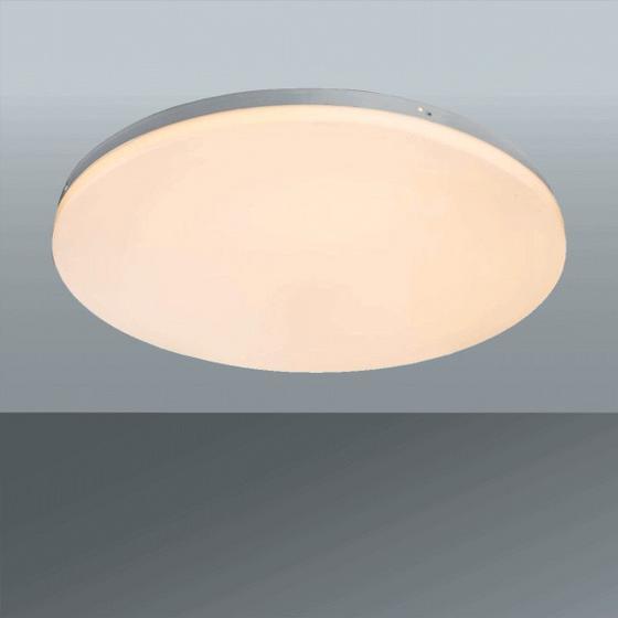 Led Stropná Lampa Jana 1 - biela, Konvenčný, umelá hmota/kov (29/5cm)