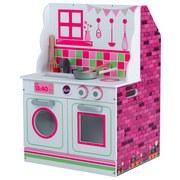 Puppenhaus & Spielküche Plum 2-in-1 - Multicolor, MODERN, Holzwerkstoff (47/40/66cm)