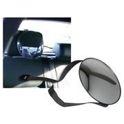 Rücksitzspiegel Fenton - Klar/Schwarz, KONVENTIONELL, Glas/Kunststoff (16,5cm)