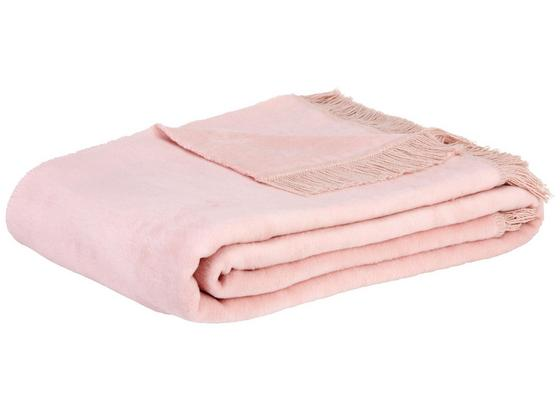 Prikrývka El Sol - ružová, textil (150/200cm) - Mömax modern living