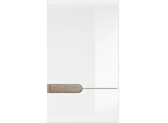 Horná Skrinka Linate - prírodné farby/biela, Moderný (40/69/22cm)