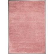 Hochflorteppich Hf Nobel Micro Coral 120/170 - Rosa, MODERN, Textil (120/170cm)