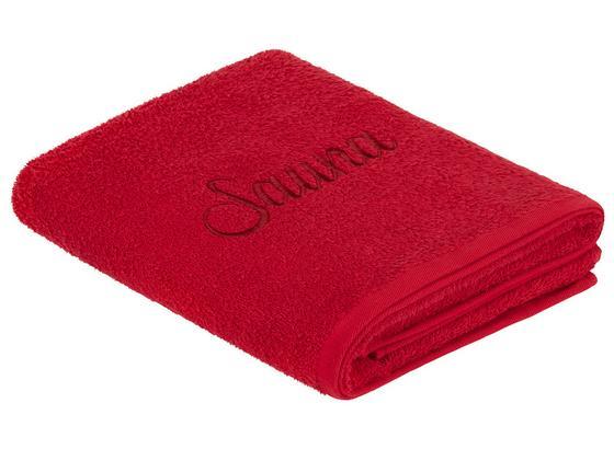 Saunatuch Sauna - Bordeaux, ROMANTIK / LANDHAUS, Textil - James Wood