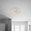 Led Stropná Lampa Cassandra Ø 48cm, 36 Watt - číre, Moderný, plast (48cm) - Premium Living
