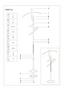 Pánský Sluha Diener - barvy stříbra/hnědá, Moderní, kov/dřevěný materiál (24/108/48cm)