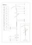 Pánský Sluha Diener - barvy stříbra/hnědá, Moderní, kov/kompozitní dřevo (24/108/48cm)