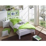 Bett Merci 90x200 cm Weiß - Weiß, KONVENTIONELL, Holz (90/200cm) - Carryhome