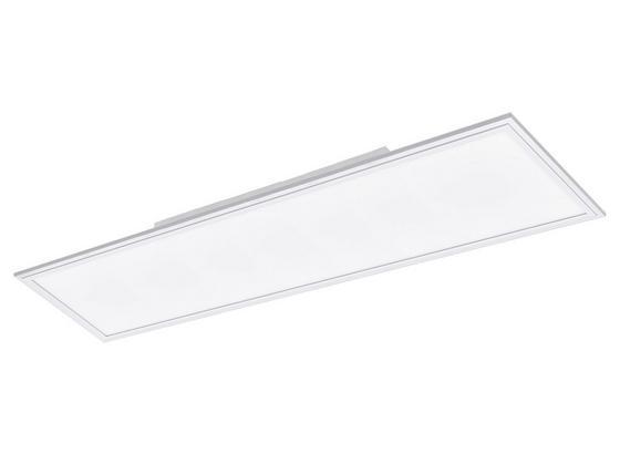 LED-Paneel Salobrena-M - Weiß, Basics, Kunststoff/Metall (119,5/29,5/5cm)