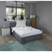 Leichtdecke Premium Soft - Weiß, MODERN, Textil (140/200cm) - FAN