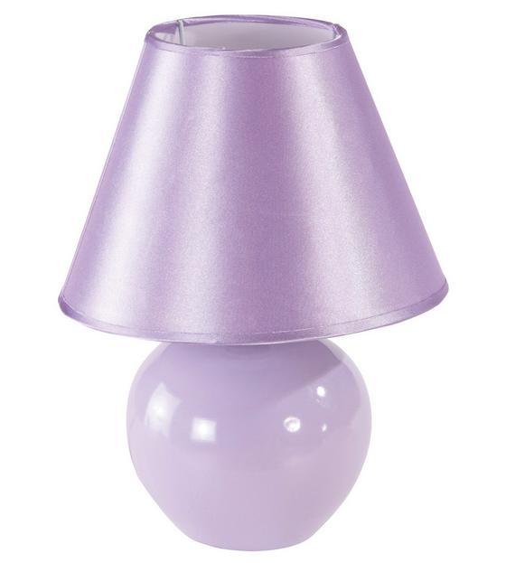 Asztali Lámpa Cindy - Orgona, konvencionális, Kerámia/Textil (18/23cm) - Ombra